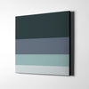 Happy Grey Day Canvas Wall Art - Artiful Color Palette Art Collection