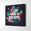 Artiful I Want to Believe Canvas Art