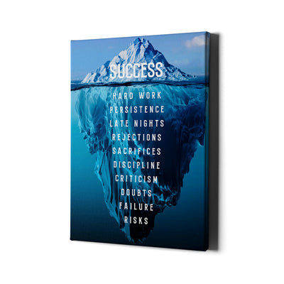 Artiful Iceberg Success Wall Art