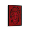 Artiful John Lennon Beatles Canvas Wall art, framed