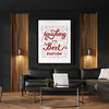 Artiful Laughing is the best exercise Canvas Wall Art