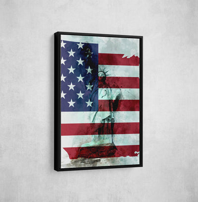 Artiful Statue of Liberty Canvas Art