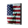 Artiful Statue of Liberty American Flag Canvas Art