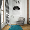 Black Lips on Marble White office and home decor - Printed Canvas - Best Canvas Wall Art - Artiful.org
