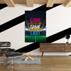 Artiful Love The Game inspirational home or office wall art