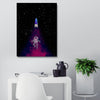 Artiful Magic Space Dust Canvas. Space Art for home and Office