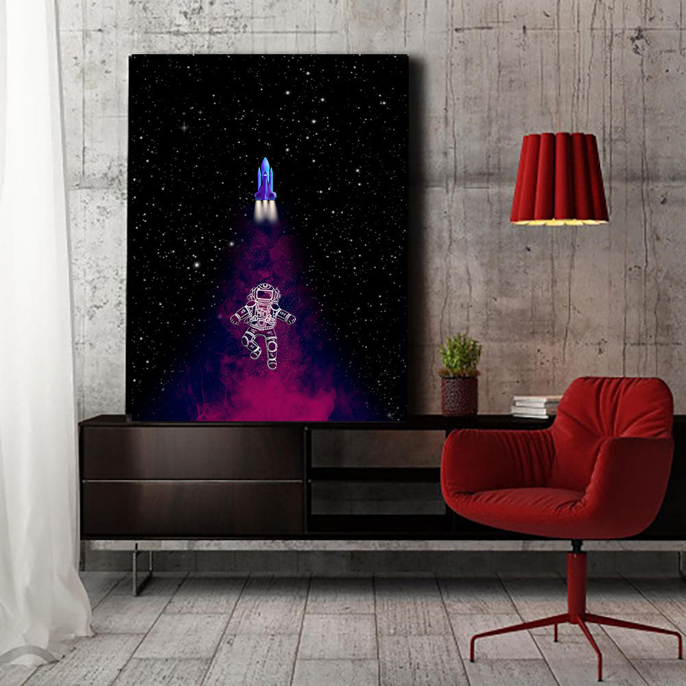 Artiful Magic Space Dust Canvas Wall Art