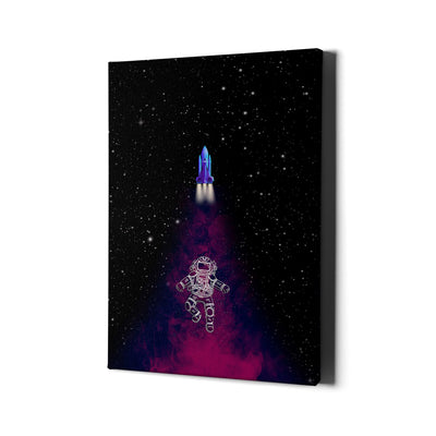 Artiful Magic Space Dust Front Canvas Wall Art