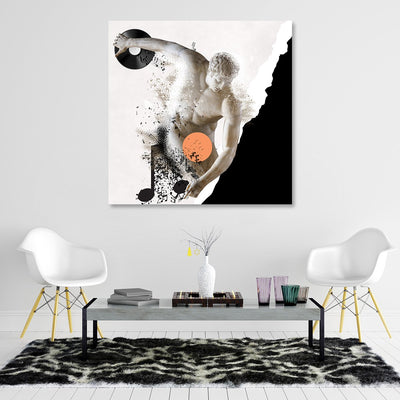 Classical Mango Music Canvas Art - Artiful Music Wall Art Collection