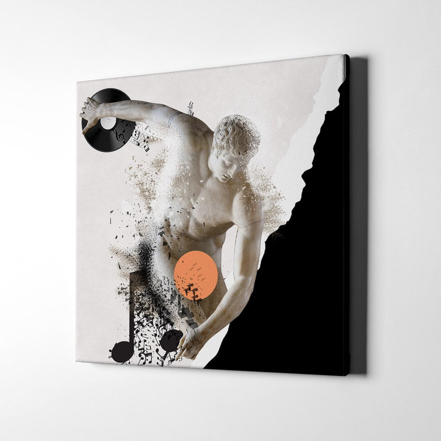 Classical Mango Music Canvas Art - Artiful Music Art Collection