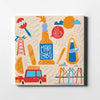 Venezuela's Maracaibo Canvas Art by Artiful - The Good Art Store