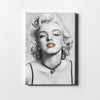 Artiful Marilyn Monroe Portrait Printed Canvas art