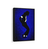Artiful Michael Jackson Canvas Wall art, framed