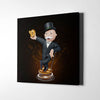 Crypto Monopoly Canvas Wall Art - Artiful Crypto Art Collection