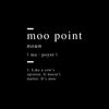 Moo point definition Art - Artiful Definition Collection