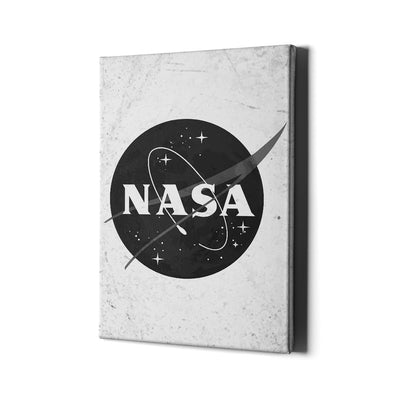 Artiful NASA Black & White Canvas Space Art