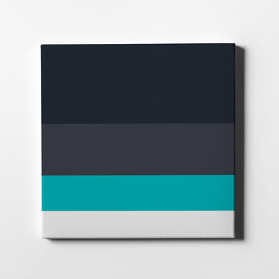 Navy blues Color Palette Canvas Art