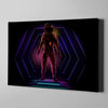 Artiful Neon Astronaut Canvas Art
