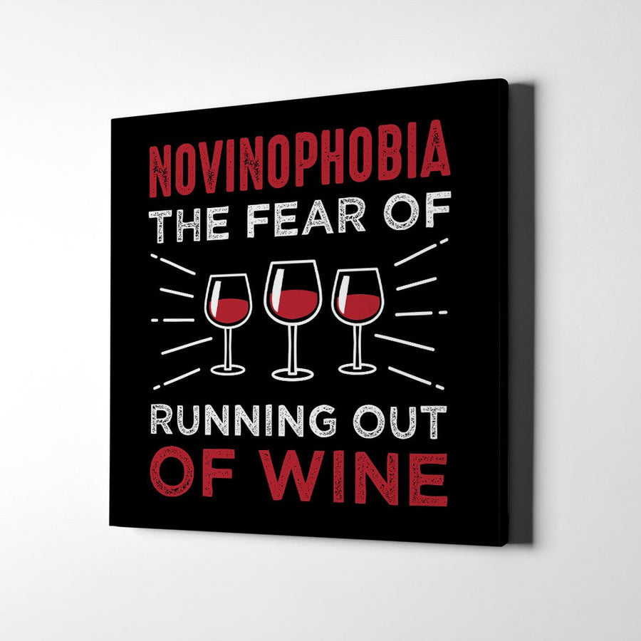 Novinophobia Canvas Art - Artiful Wine Art Collection