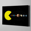 Artiful Pac-Man Solar System Wall Art