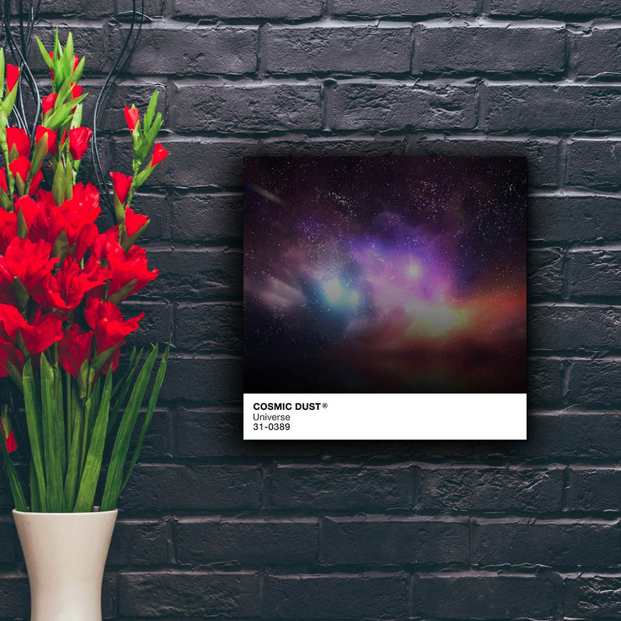Artiful Cosmic Dust Pantone Canvas Wall Art