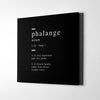 Friends Phalange definition Canvas Art - Artiful Definition Collection