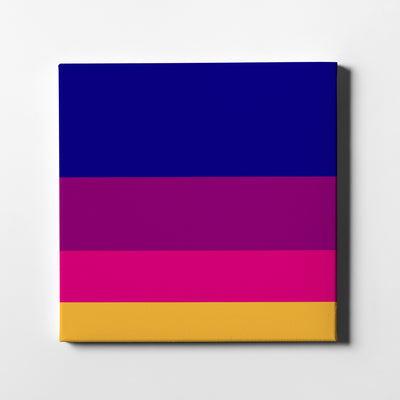 Piñata Canvas Art - Artiful Color Palette Art Collection