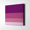 Purple Flag Canvas Wall Art - Artiful Color Palette Art Collection