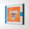 Artiful Ballet flamingo II Canvas Wall Art