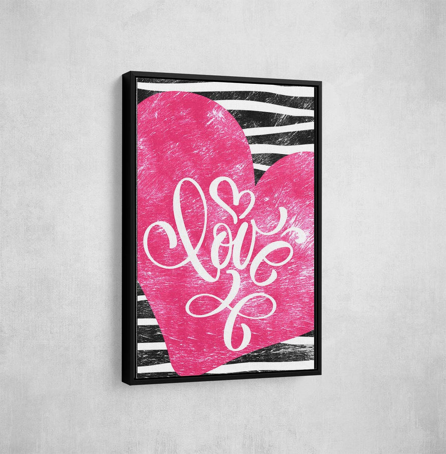 Artiful Pink Canvas art