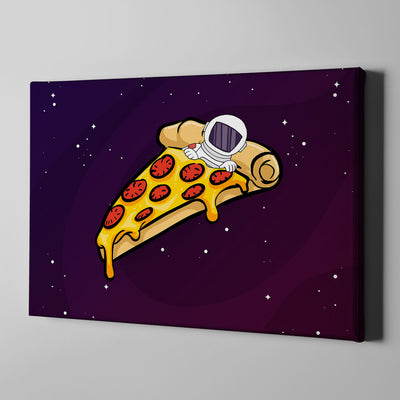 Artiful Space Pizza Bed Wall Art