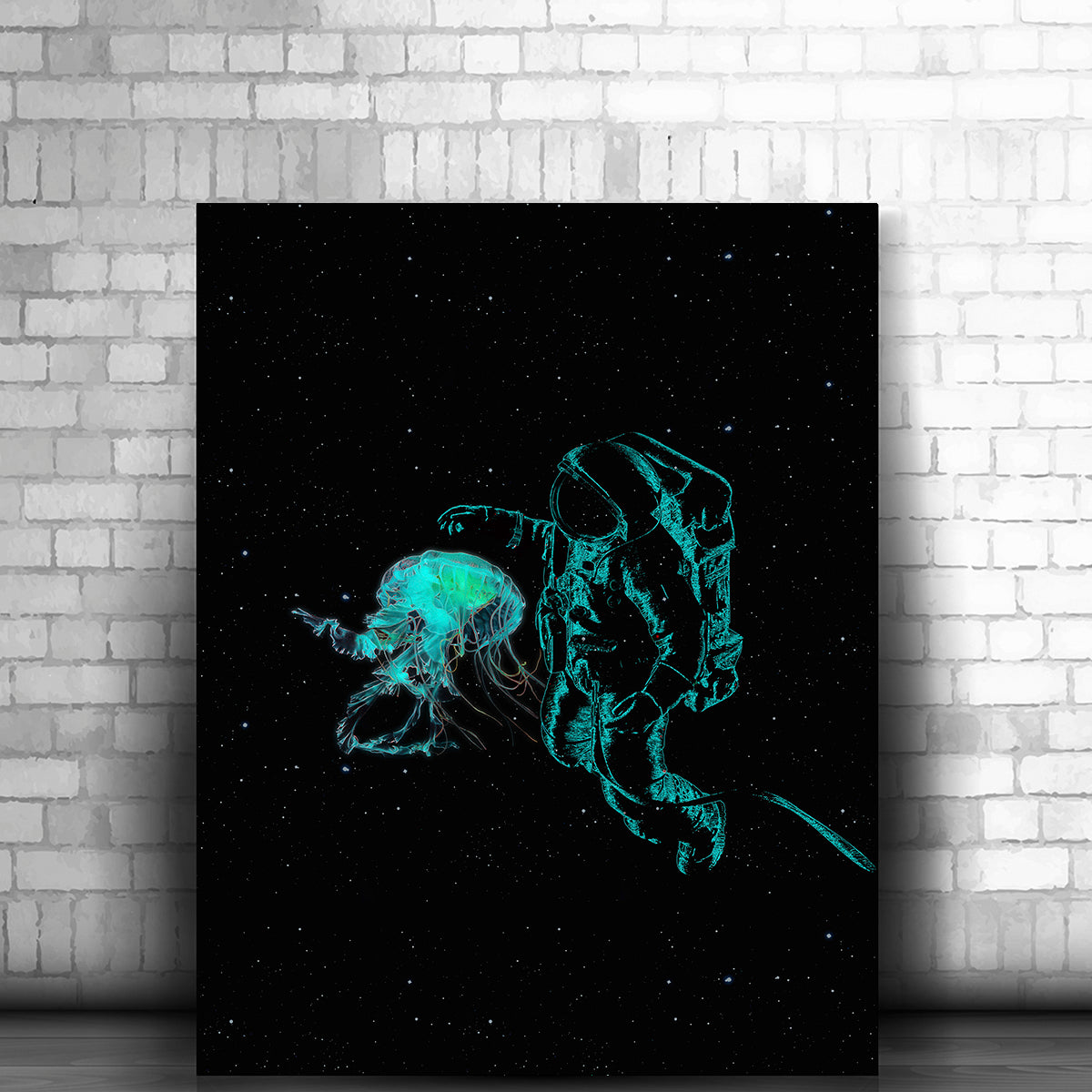 Artiful Space Jellyfish Art