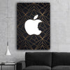 Steve Jobs CEO of Apple- Printed Canvas - Best Canvas Wall Art - Artiful.org