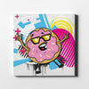 Urban Donut Canvas Art - By Artiful - The Good Art Store