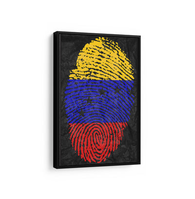 Artiful Arte Bandera de venezuela canvas inspirational home or office wall art