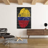Artiful Bandera venezuela canvas efecto inspirational home or office wall art