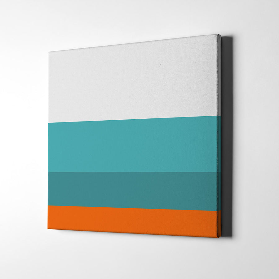 End of the Week Vibe Color Palette Canvas Art - Artiful Collection