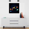 Artiful Witty Solar System Canvas Art