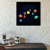 Artiful Witty Solar System Canvas