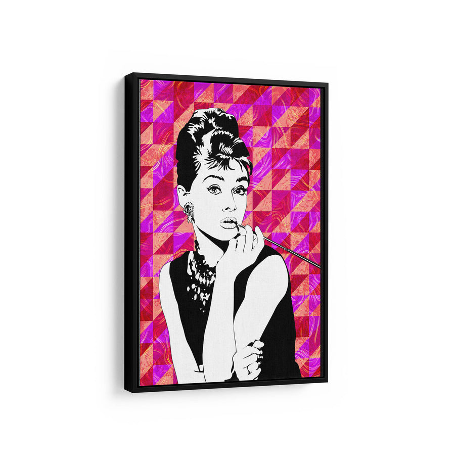 Artiful Audrey Hepburn Printed Canvas art