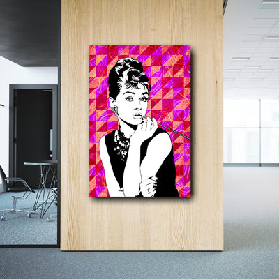 Artiful Audrey Hepburn home or office wall art