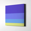Beach In Venus Canvas Wall Art - Artiful Color Palette Art Collection