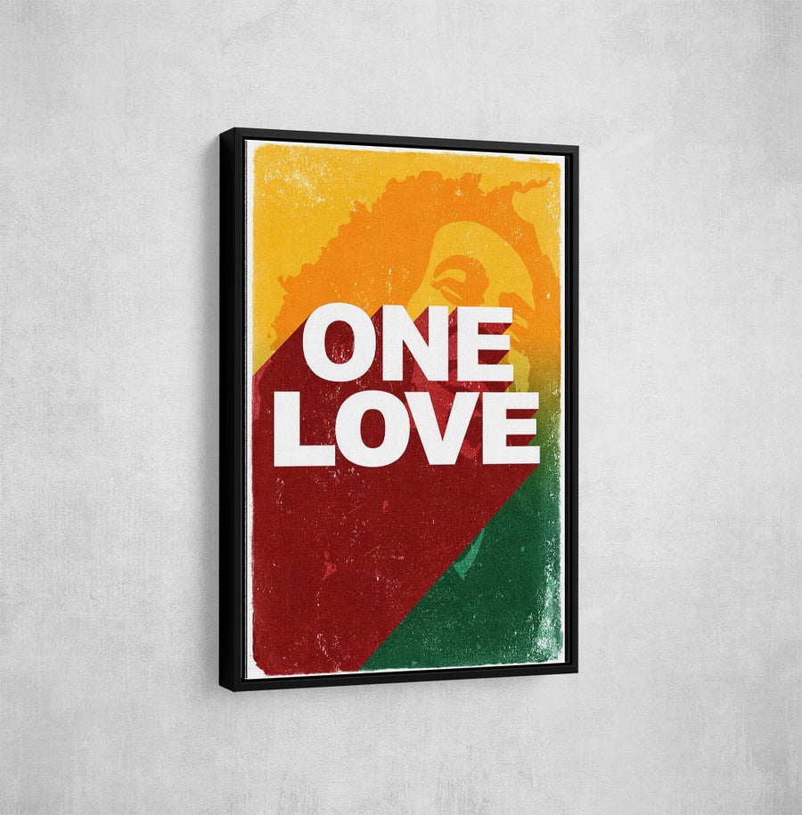 Artiful Bob Marley One Love Iconic Canvas Art