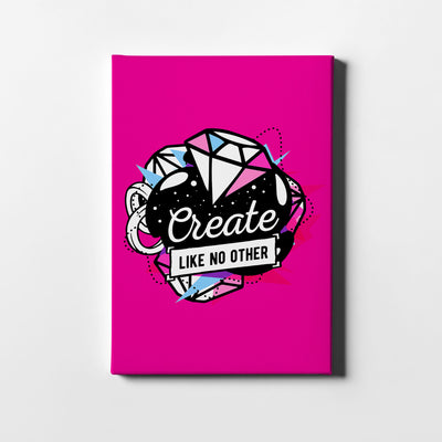 Artiful Create Like No Other motivational Canvas art