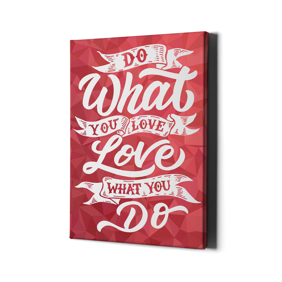 Artiful Do What You Love motivational office and home decor wall art