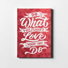 Artiful Do What You Love motivational Canvas art