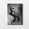 Artiful Elvis Presley on black and white Printed Canvas art