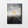Artiful Expect the Unexpected motivational Canvas Wall art, framed