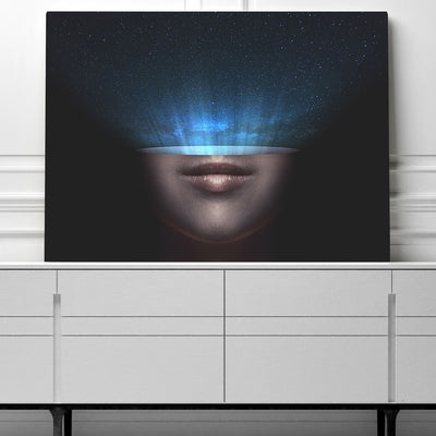 Artiful Head Space Printed Wall Art for Home or Office
