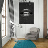 Black Lips office and home decor - Printed Canvas - Best Canvas Wall Art - Artiful.org